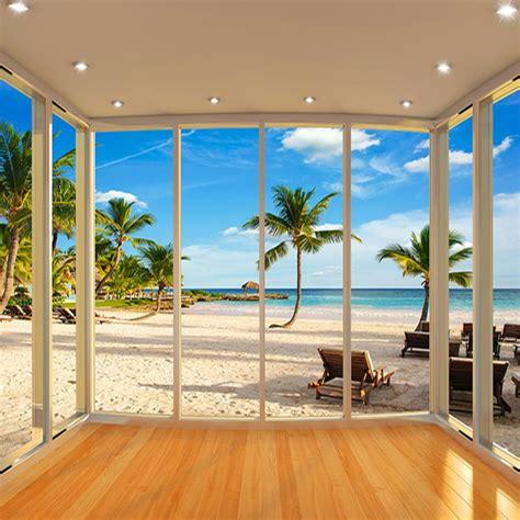 latest   window palm beach scenery sea beach