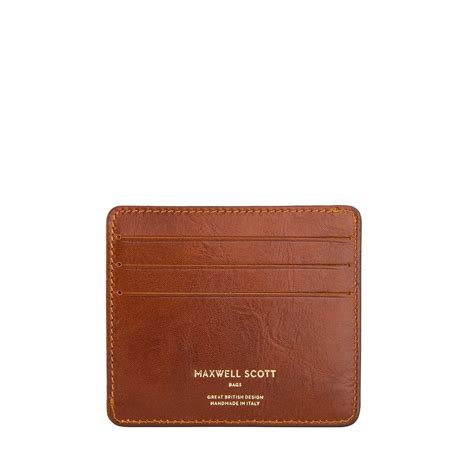marco leather credit card holder  men