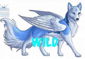 Angel wolf art ( I dont know XD) | wolves | Pinterest ...