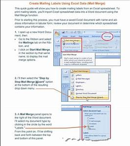 mail merge using an excel template excel tmp With create mailing labels online