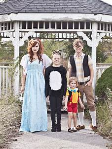 Pinocchio Themed Family Costume - A Beautiful Mess