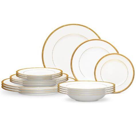 dinnerware rochelle gold noritake piece china setting amazon dishes sets place
