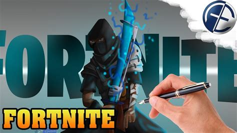 fortnite fanart zeichnen wacom cintiq hd speed painting