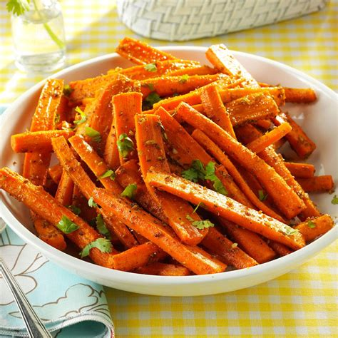They go well in a meal. Cumin-Roasted Carrots Recipe | Taste of Home