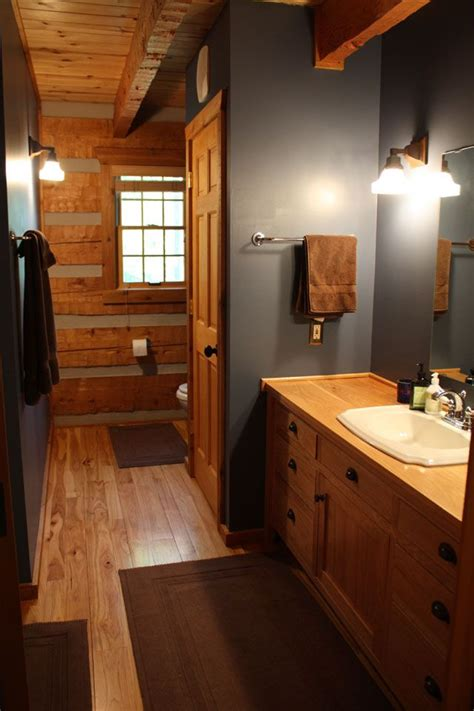 Rustic Bathroom Colors by Best 25 Cabin Paint Colors Ideas On Rustic