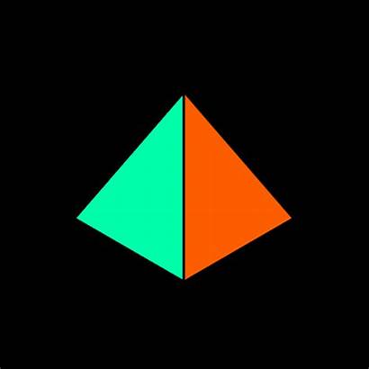 Triangle Giphy Gifs Illusion Animated Optical Abstract