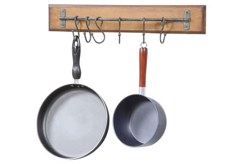 pots and pans wall hook