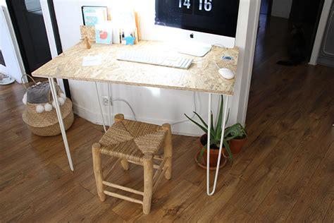 plateau bureau alinea un bureau osb handmade très simple à réaliser
