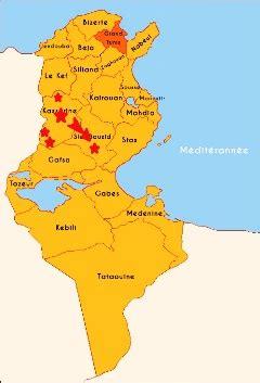 Carte Du Monde Tunisie by Tunisie Grogne Sociale Les Troubles Se Propagent Au