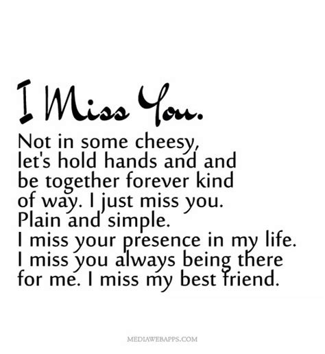 I Miss You Best Guy Friend Quotes