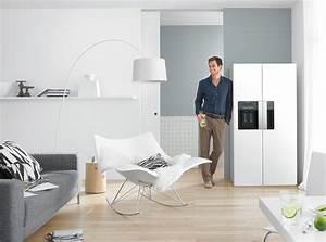 Küche Mit Side By Side Kühlschrank : der star in jeder k che der kult side by side k hle sch nheit ~ Bigdaddyawards.com Haus und Dekorationen