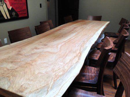 edge wood slabs blacks farmwood dining tables