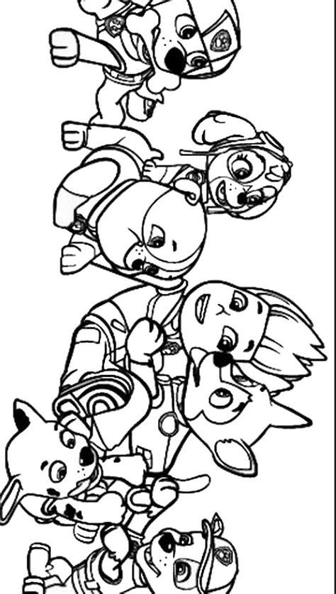 paw patrol coloring page 11