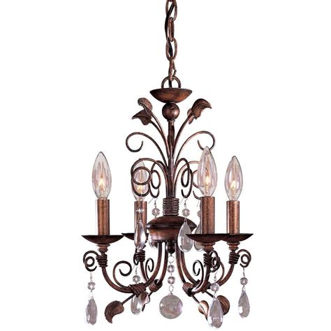 minka lavery mini chandeliers minka lavery 4 light belcaro walnut mini chandelier 3127