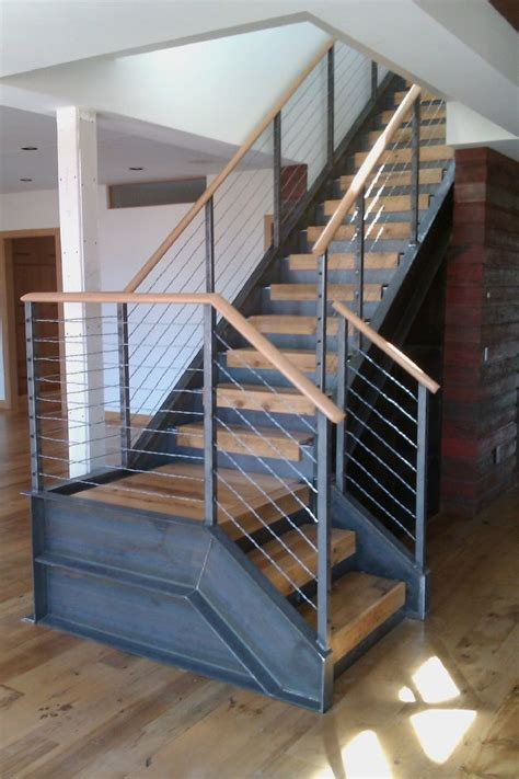 Foldable Stairs Industrial Designer by Best 25 Industrial Stairs Ideas On Staircase