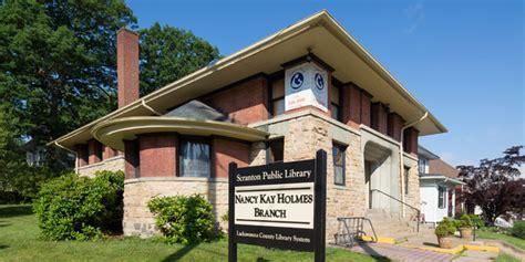 nancy kay holmes branch library lackawanna county