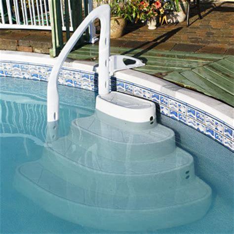 escaliers amovibles quatre marches pour piscines hors sol enterr 233 es