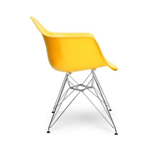 eames inspired yellow dar style chair eames inspired