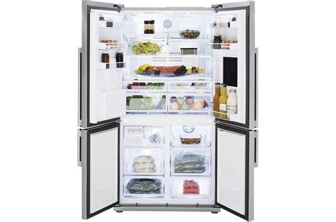 magasin darty cuisine réfrigérateur multi portes beko gne134630x inox 4128672