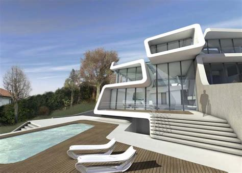 luxury homes designs interior futuristic house by zaha hadid architects