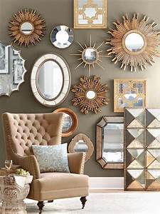 Decoration Murale Miroir : deco avec miroir mural id es de d coration int rieure ~ Teatrodelosmanantiales.com Idées de Décoration