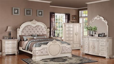 infinity antique pc bedroom set wking bed  classy home