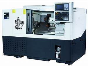 Lathes - New Slant Bed Cnc Production Lathes - Ajax