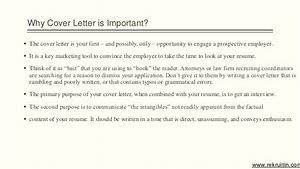 importance of cover letter With how important are cover letters