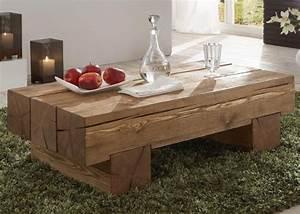 Tisch Aus Alten Balken : couchtisch balken kiefer massiv gewachst ~ Michelbontemps.com Haus und Dekorationen