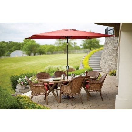 living accents park 7 pc dining set all patio