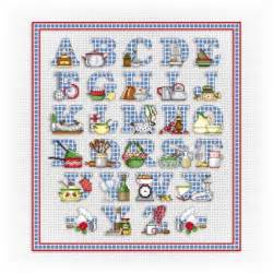 Free Counted Cross Stitch Alphabet Patterns