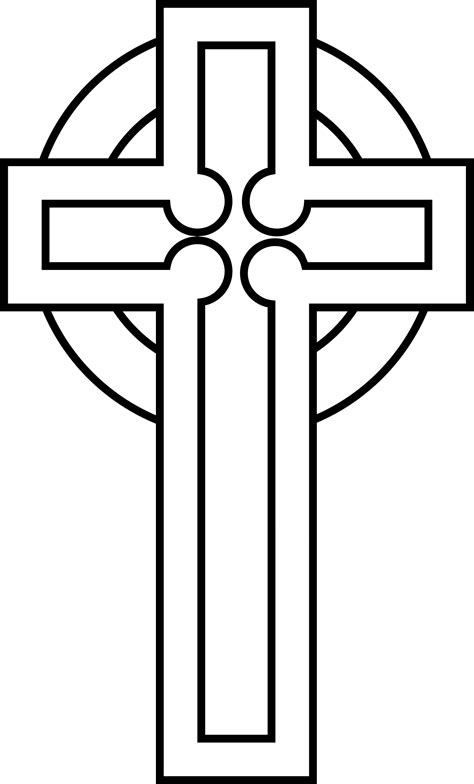 Black And White Cross Clipart | Free download on ClipArtMag