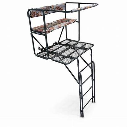 Ladder Double Guide Gear Rail Stand Tree