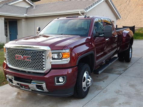 2015 3500 denali dually at 4000 pros and cons chevy and gmc duramax diesel
