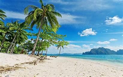 Beach Desktop Tropical Beaches Backgrounds Wallpapers Islands