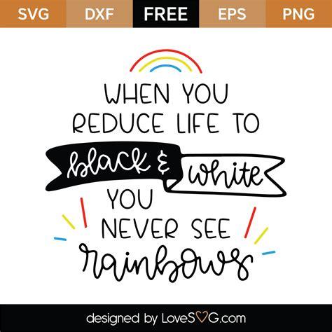 Free svg image & icon. Free When You Reduce Life SVG Cut File | Lovesvg.com