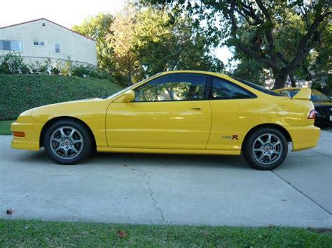 phoenix yellow acura integra type     stock