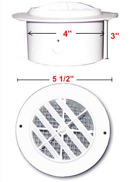 buy round undereve soffit bath fan vent dwi 3840