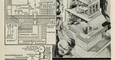 plans   dollhouse  elevator  young craftsman