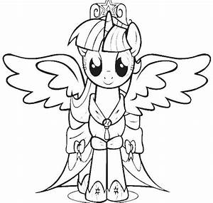 My Little Pony Twilight Sparkle Coloring Pages Sketch ...