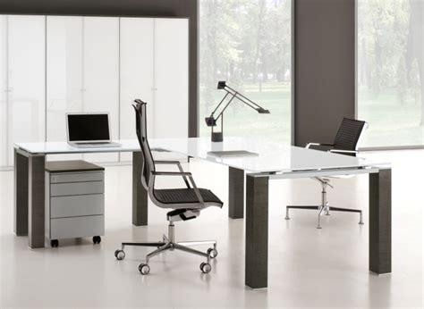 bureau direction verre choix du mobilier de bureau