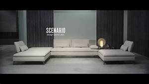 composition d39angle scenario design sacha lakic youtube With canape angle cuir roche bobois