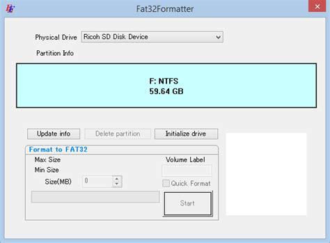 Exfat To Fat32 Smartdisk Fat32 Format Formatter Tool