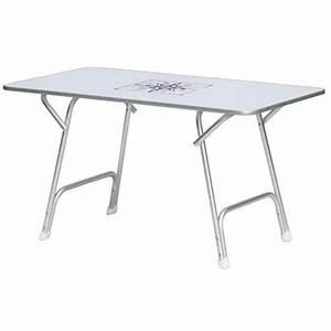 Table Pliante De Camping : osculati table de cockpit pont pliante pour bateau et camping car ~ Melissatoandfro.com Idées de Décoration