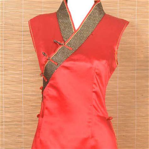 sleeveless tunic inspired top chinese apparel women