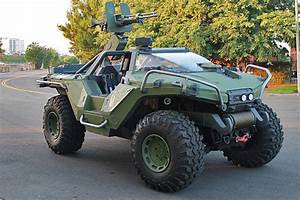 Your Next Dream Car: A Real-Life Halo 4 Warthog | Nerdist