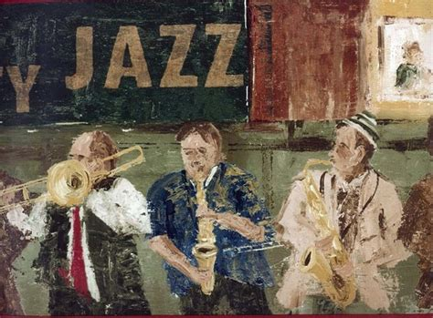 Jazz Musicians Wallpaper Border, Roll - Traditional