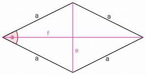 Raute Flächeninhalt Berechnen : raute rhombus ~ Themetempest.com Abrechnung