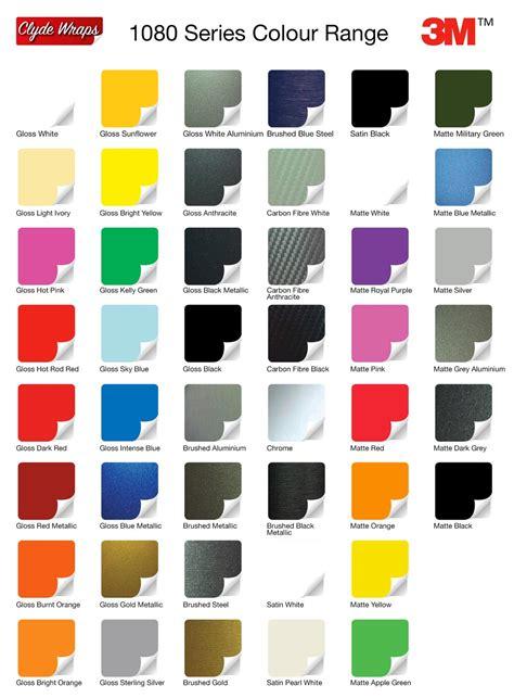3m 1080 colors colour change vinyl wraps clyde wraps