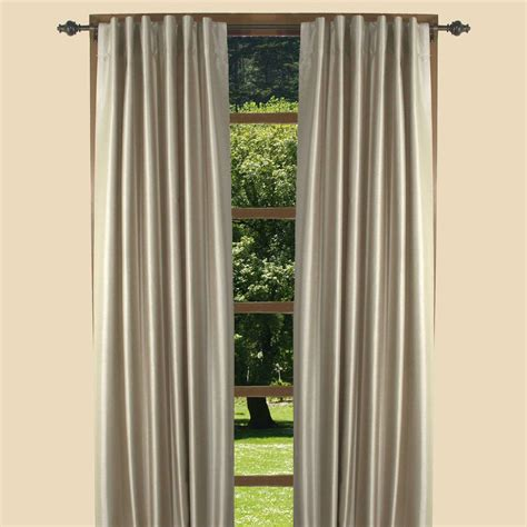 Tab Drapes - fontaine back tab room darkening curtains